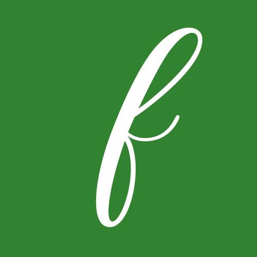 dibujo letra f cursiva
