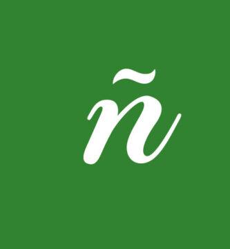 Letra ñ Cursiva 1