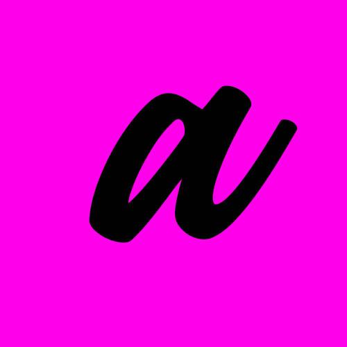 ejemplo letra a cursiva minuscula