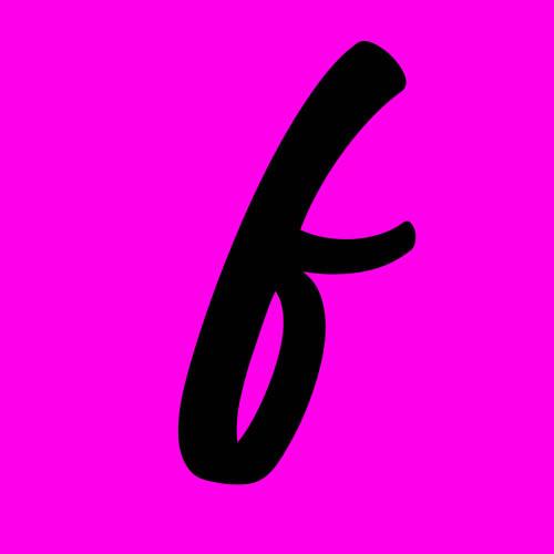 ejemplo letra f cursiva minuscula