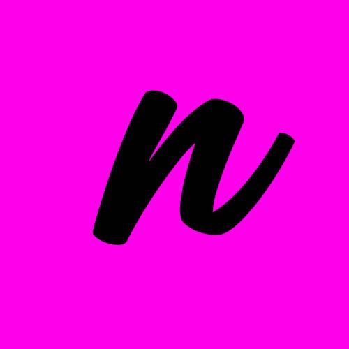 ejemplo letra n cursiva minuscula