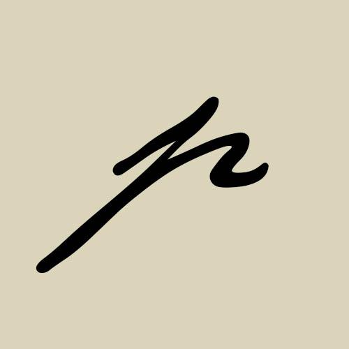 letra p cursiva manuscrita