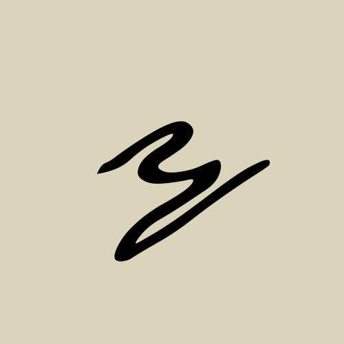 letra y cursiva manuscrita